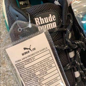 Rhude Puma Alien Cell sample Vans 10.5 bape kith